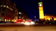 Big Ben time lapse video video