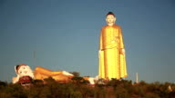 Big Buddha Monywa Panorama Left video