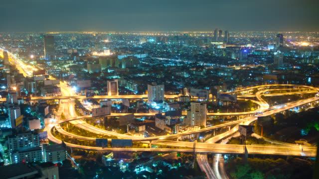 Big City Highway Interchange video