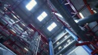 Big factory - industrial production video