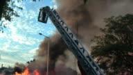 Big fire video