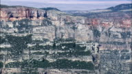 Big Horn Canyon - Aerial View - Montana, Big Horn County, United States video