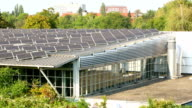 Big house with solar energy video
