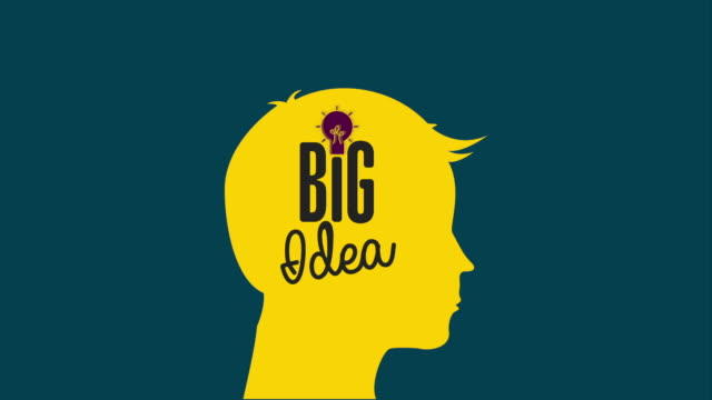 Big idea icon, Video Animation video