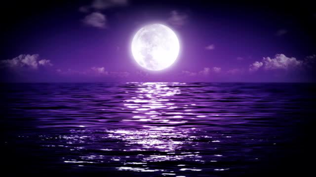 Big Moon at the sea video