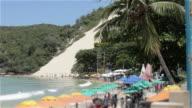 Big sand dune in Natal Brazil video
