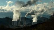 HD: Big Smoke Over Power Plant video