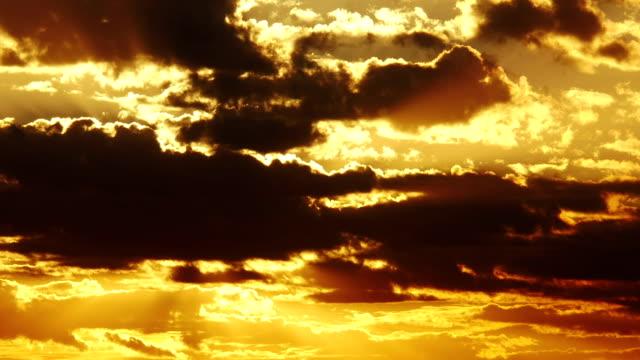 Big Sun With Orange Sky video