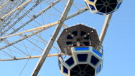 Big wheel against the sky. video
