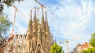 Biggest attraction in Barcelona, La Sagrada Familia video