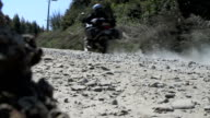 bike off road back video