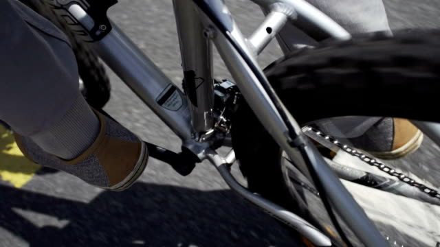 Bike pedalling commuting   TR video