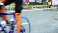 Bike race start video