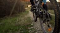 SLOW MOTION: bike riding video