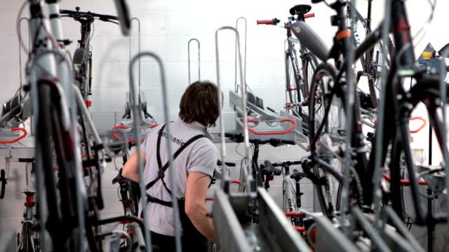 Bike storage video