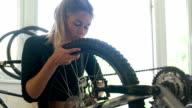 Bike wheel 1 video