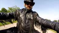 biker dude video