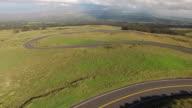 Biker Racing Down A Volcano video