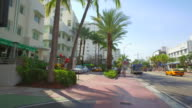 Biking in Miami Beach video