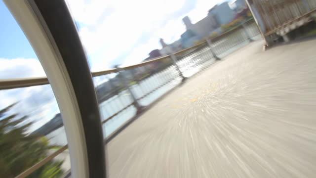 Biking POV Waterfront video