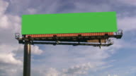Billboard. Commercial Sign. video