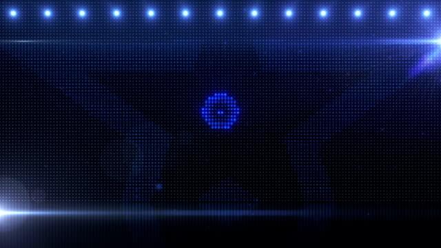 Billboard Stars Blue Background video