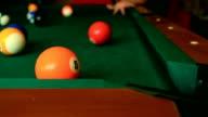 Billiard balls video