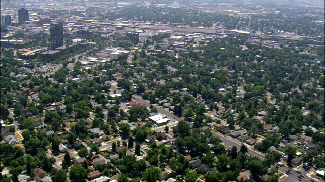 Billings  - Aerial View - Montana, Yellowstone County, United States video