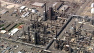 Billings Refinery  - Aerial View - Montana, Yellowstone County, United States video