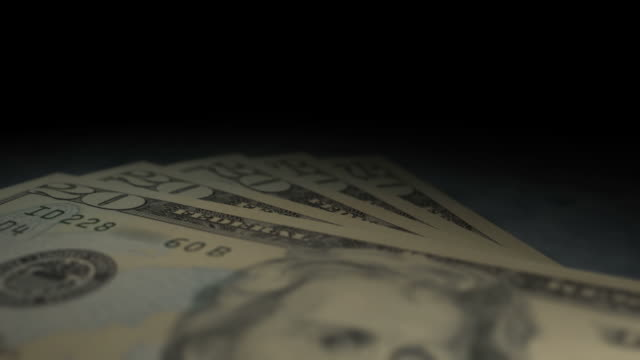 $20 Bills Multi-Perspective Fly Overs (1080/30P) video