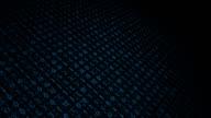 Binary code black background video