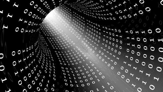 Binary Code Tunnel video