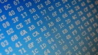 Binary code video