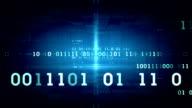 Binary Data Blue video