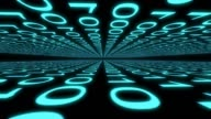 binary digital computer data code number Internet cyberspace graphic animation video