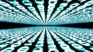 binary numbers cyberspace graphic animation video