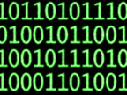 Binaty code moving video