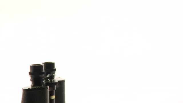 Binoculars Standing on End video