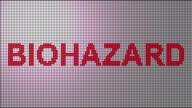 Biohazard warning video