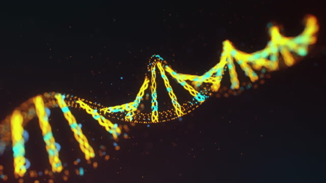 Biological Background with DNA Strand video