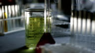 Biology lab equipment video