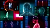 Bionic 3D Medical Science Montage (HD Loop) video