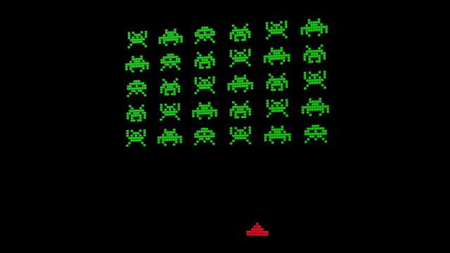 8 Bit Alien Invaders video