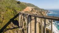 Bixby Bridge in Big Sur California video