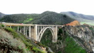 Bixby Bridge on California's Big Sur video