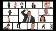 HD MONTAGE: Bizarre Business People video