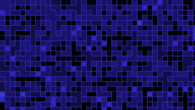 Black and blue digital noise signal video