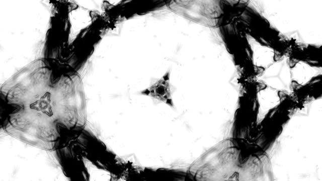 Black And White Abstract Background video