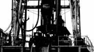 Black and White Fracking video