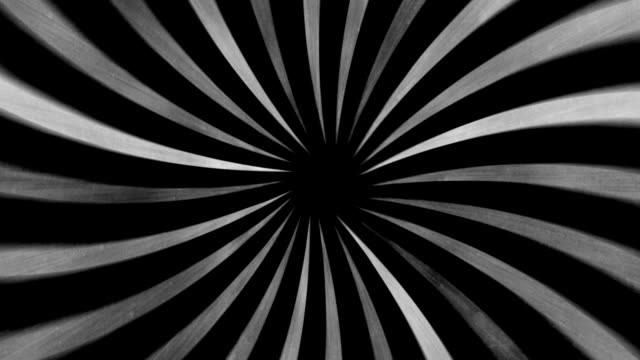 Black and White Vortex video